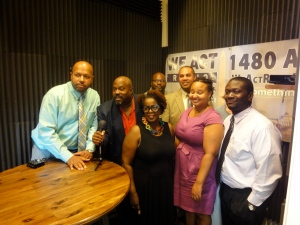 Jeff Smith, Thomas Byrd, Kenneth Ward, David Cranford, Iris Toyer, Jocelyn Prince and Simon Earl