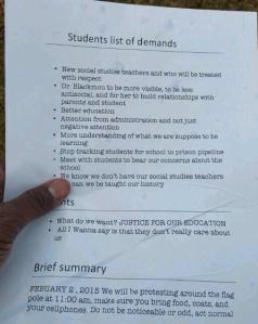 MS2 Student Demands