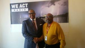 Grant Thompson, candidate for Ward 8 Councilmember; Thomas Byrd, host